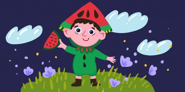 Загадки для детей 4–5 лет про фрукты и ягоды