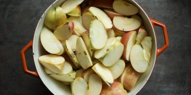 Как сделать домашний яблочный сидр