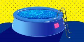 Чем заклеить надувной и каркасный бассейн