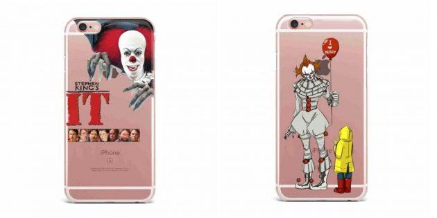 Прозрачный чехол для iPhone «Оно»