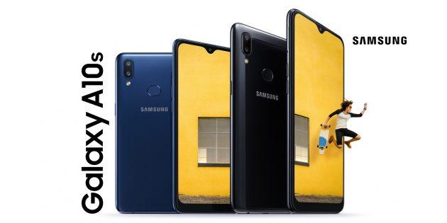 Samsung анонсировала бюджетный Galaxy A10s