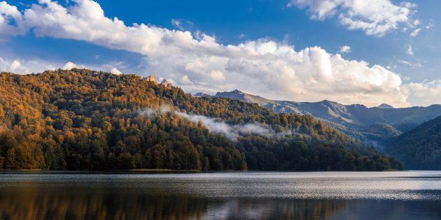 Отдых в Азербайджане: озеро Гёйгёль