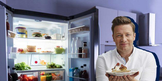 Как перестать выбрасывать еду из холодильника: советы Джейми Оливера