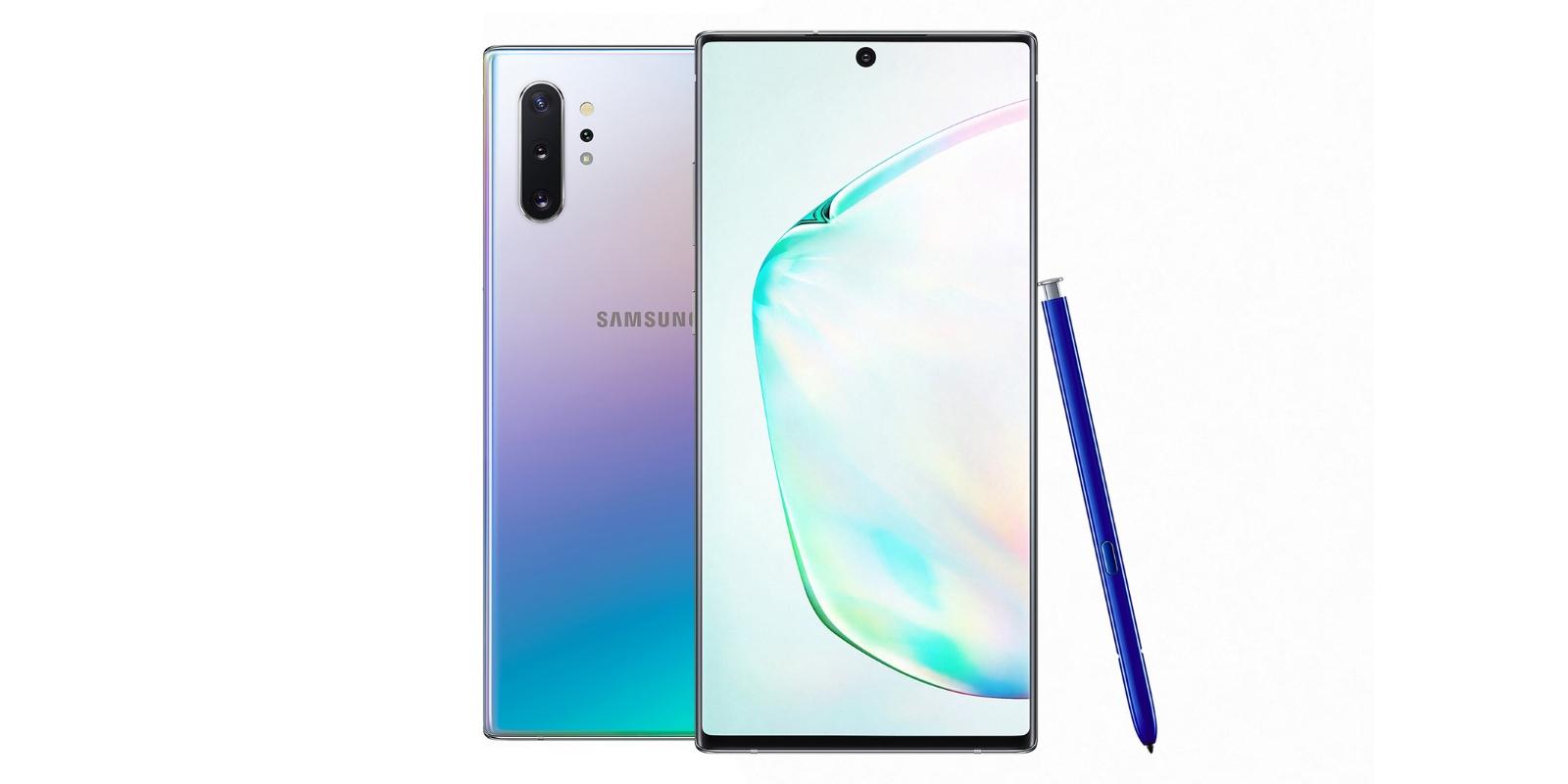 Samsung Galaxy Note 10 и Note 10+