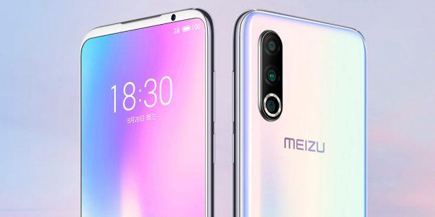 Представлен Meizu 16s Pro с тройной камерой и Snapdragon 855