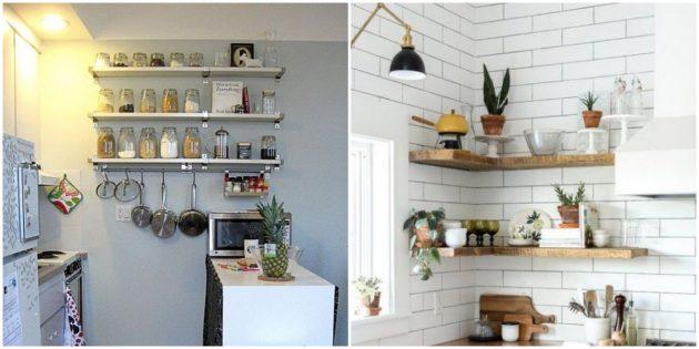 Расставьте по полочкам кухонную утварь