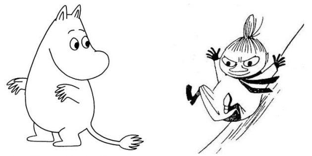 Муми-тролль и Малышка Мю
