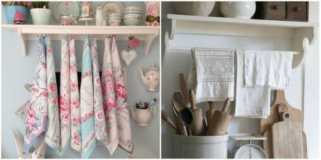 Добавьте красивый текстиль в кухонный интерьер