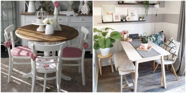 Замените или преобразите стулья