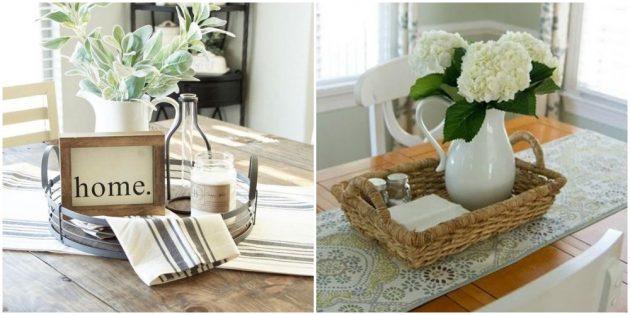 Интерьер кухни: оформите стол