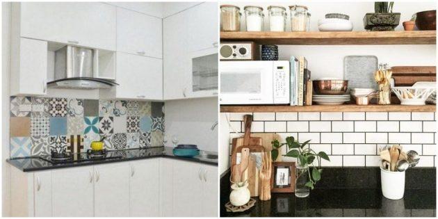Поменяйте кухонный фартук