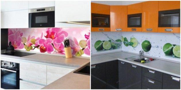 Интерьер кухни: поменяйте фартук