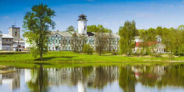 Достопримечательности России: Вышний Волочёк (Тверская область)