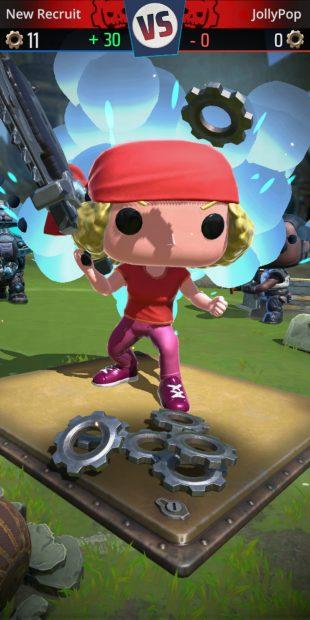 Один из персонажей бесплатной мобильной игры по Gears of War