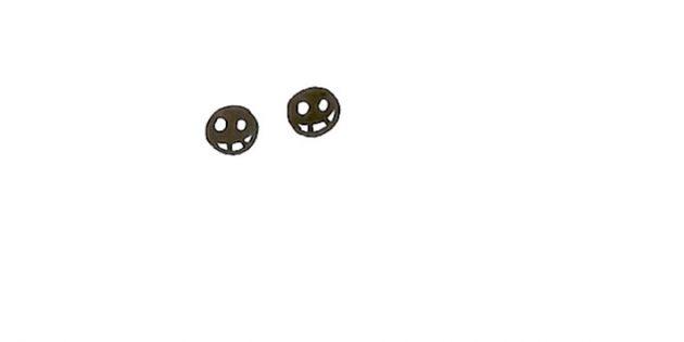 Изобразите глаза бабочки