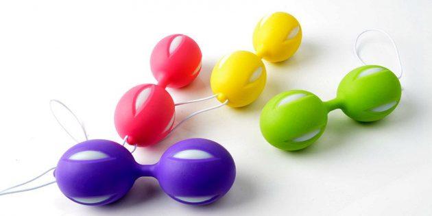 Вагинальные шарики для тренировки мышц