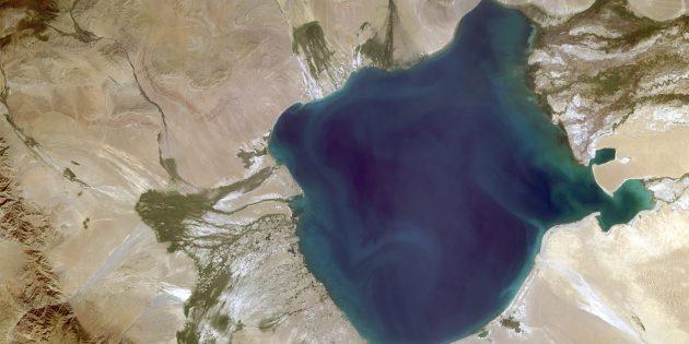 Достопримечательности России: озеро Убсу-Нур (Тыва)