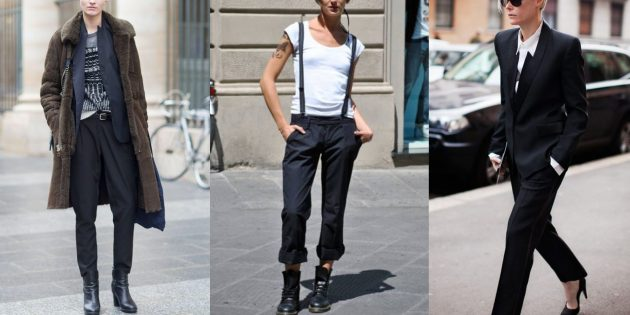 Модные тенденции 2019: одежда в андрогинном стиле