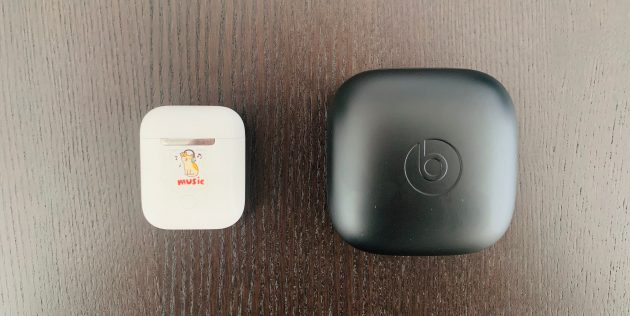 Powerbeats Pro: габариты кейса