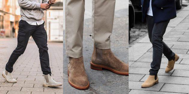 Модные мужские ботинки-челси для осени и зимы 2019/2020
