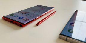 Обзор Galaxy Note 10 и Note 10+ —новых фаблетов Samsung со стилусом