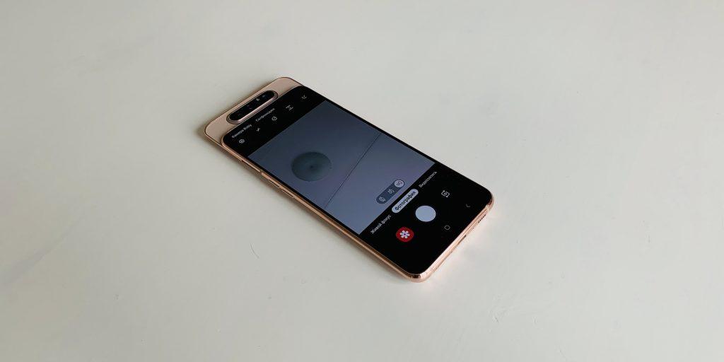 Обзор Samsung Galaxy A80 — слайдера с поворотной камерой и ...