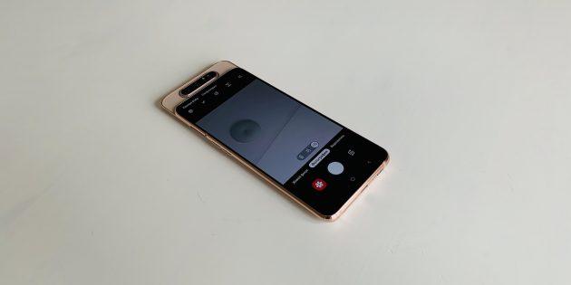 Обзор Samsung Galaxy A80 —слайдера с поворотной камерой и флагманскими характеристиками
