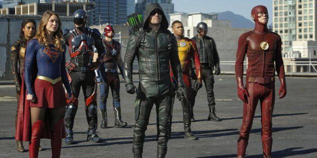 Кроссовер супергеройских сериалов The CW