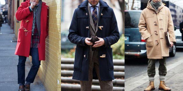 Модные мужские вещи: дафлкоты