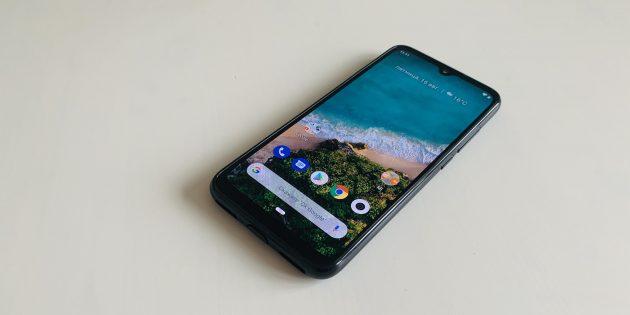 Xiaomi Mi A3: экран