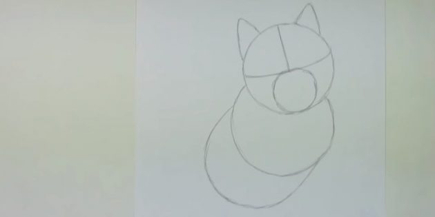 Подрисуйте ещё один круг и полуовальную фигуру