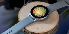 Samsung представила часы Galaxy Watch Active 2 с круглым дисплеем и NFC