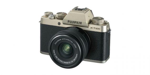 Фотоаппараты для начинающих: Fujifilm X-T100