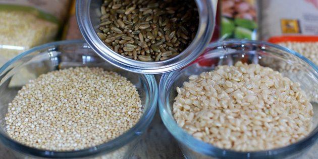 Здоровая еда: выбирайте цельнозерновые продукты