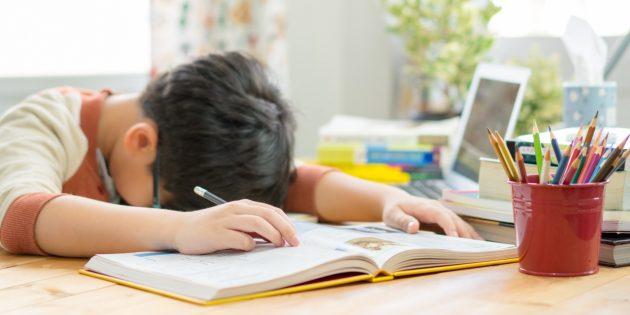 Не переборщите с нагрузкой гиперактивного школьника