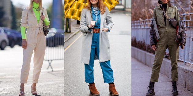 Модные тенденции осень 2019: рабочие комбинезоны