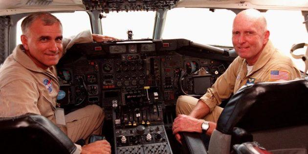 Визуализация: командир и второй пилот