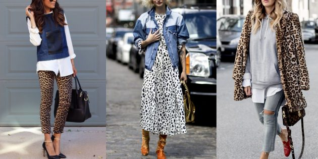 Женская мода осень 2019: леопардовый принт