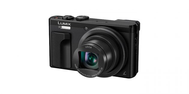 Фотоаппараты для начинающих: Panasonic Lumix TZ80