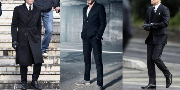 Мужская мода — 2019: костюм как у мафиози