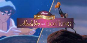 Disney перезапустит классические игры «Аладдин» и «Король Лев»