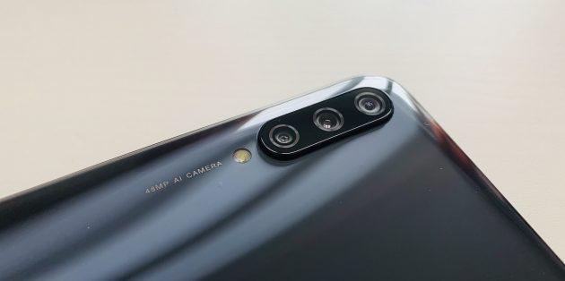 Xiaomi Mi A3: модуль камеры