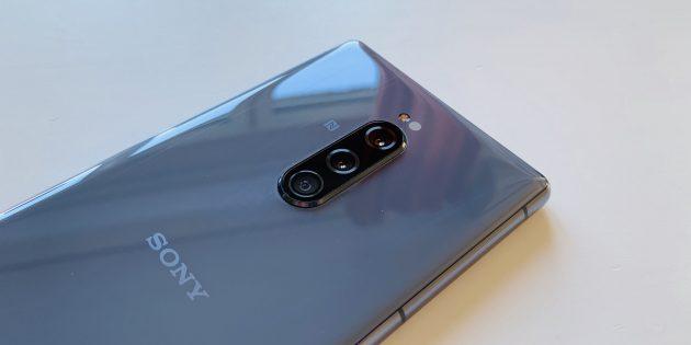 Sony Xperia 1: модуль камеры