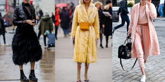 Мода осень 2019: монохромные наряды