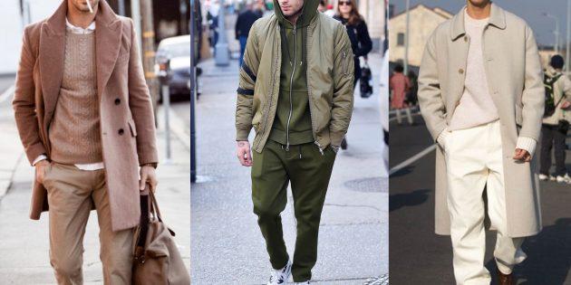 Мужская мода — 2019: монохромные комплекты