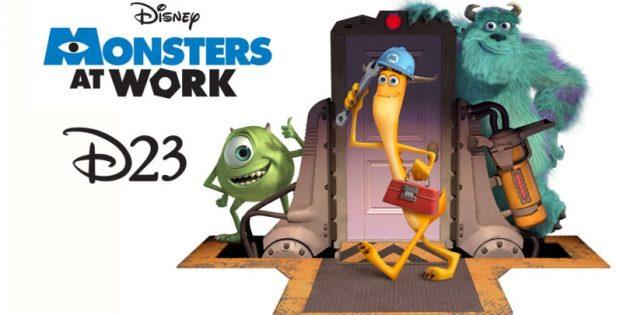 D23: Монстры за работой