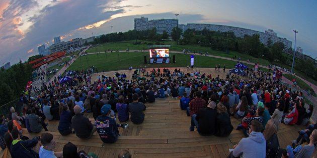 Фестиваль уличного кино: Набережные Челны