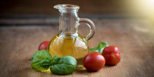 Здоровая еда: используйте правильное масло