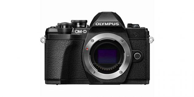 Фотоаппараты для начинающих: Olympus OM-D E-M10 Mark III