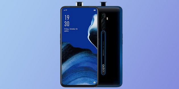 Oppo анонсировала три безрамочных смартфона серии Reno 2
